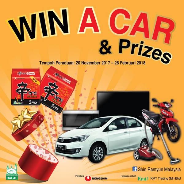Win a Perodua Bezza