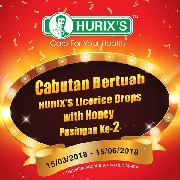 Cabutan Bertuah Hurix's Licorice Drops with Honey Round-2