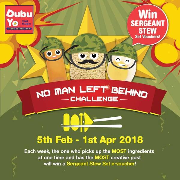 NO MAN LEFT BEHIND CONTEST