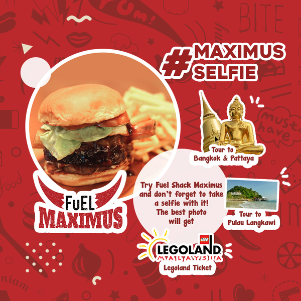 Fuel Shack Maximum Selfie Contest