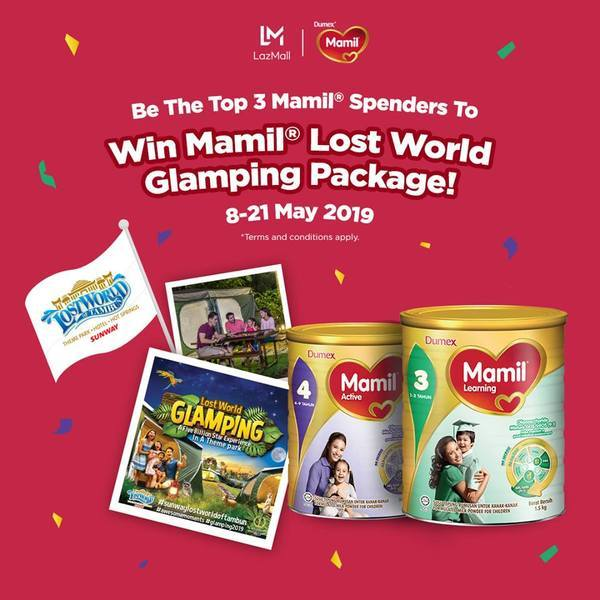 mamil-lost-world-glamping-package-lazada-contest