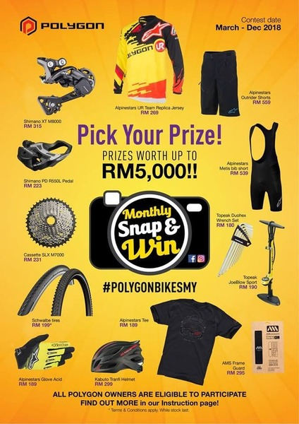Polygon Snap and Win