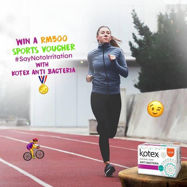 Win a RM500 Sports Voucher