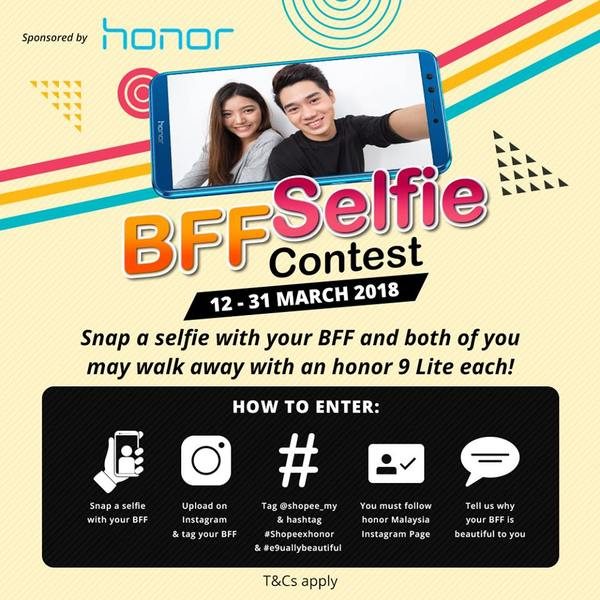 Shopee BFF Selfie Contest