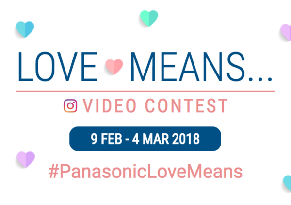 Panasonic Love Means Contest