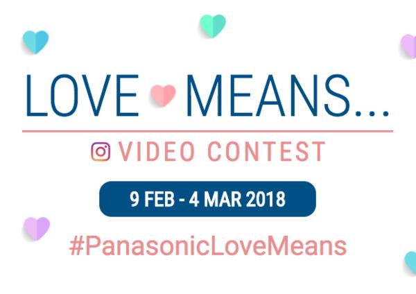 Panasonic Love Means Contest