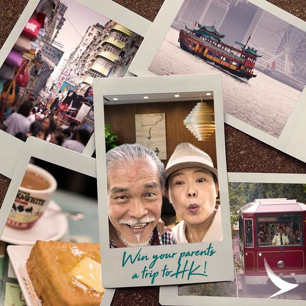 Cathay Pacific Win Your Parents A Trip To Hong Kong Contest