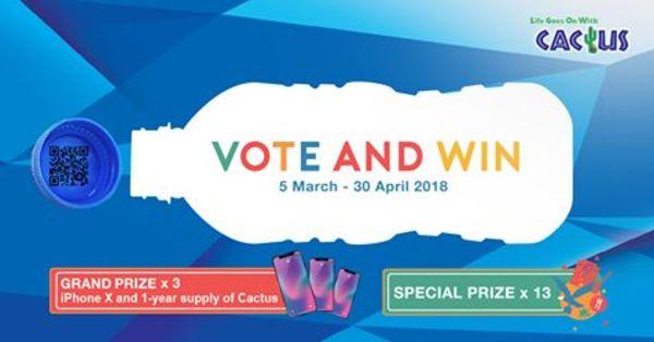 Cactus Vote and Win Contest