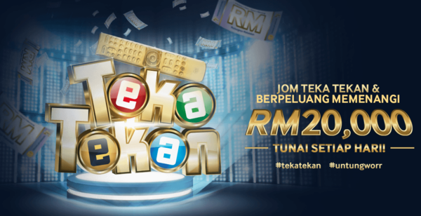 Play Unifi Teka Tekan and Win Cash Daily!