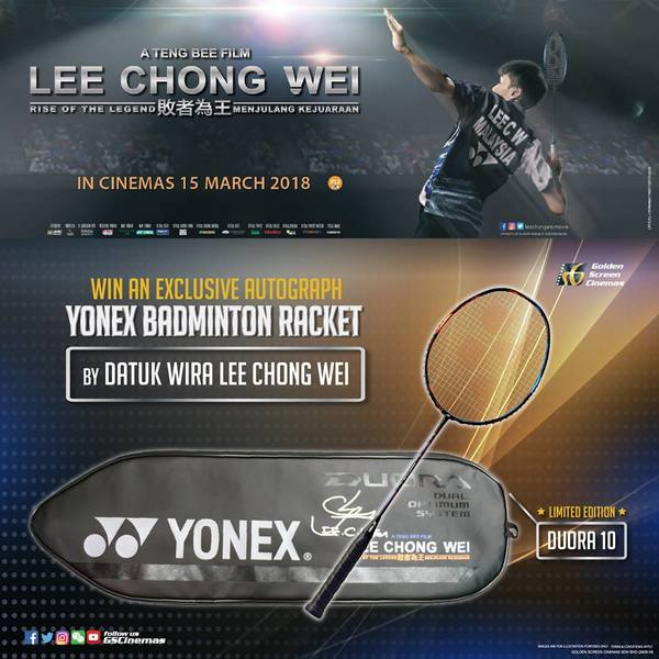 Win LIMITED EDITION BADMINTON RACKET