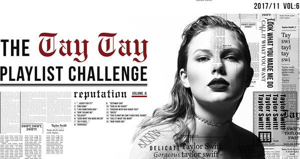 Tay Tay Playlist Challenge