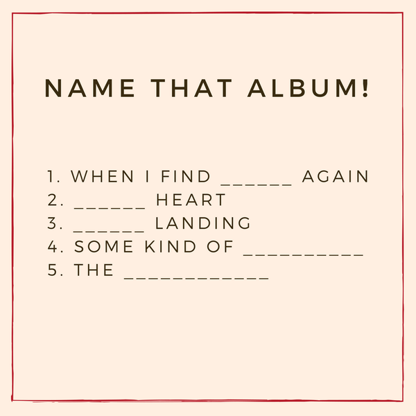 Name that album!