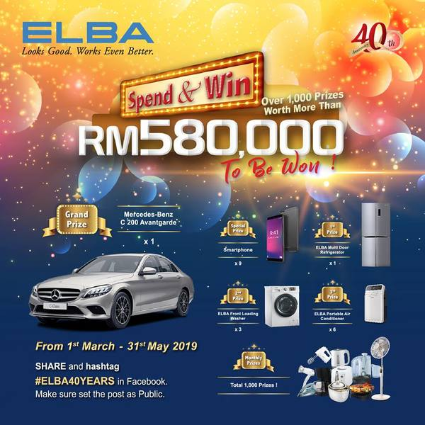 ELBA Spend and Win