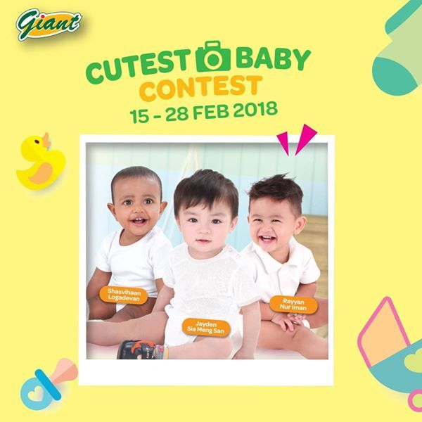 Giant Cutest Baby Contest