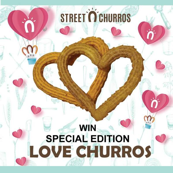 Street Churros Valentine's Day Contest
