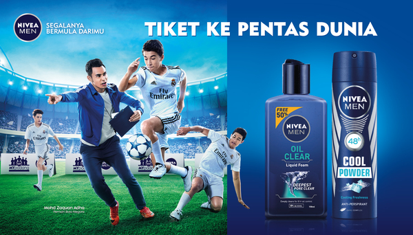 NIVEA MEN Win Trip to Russia