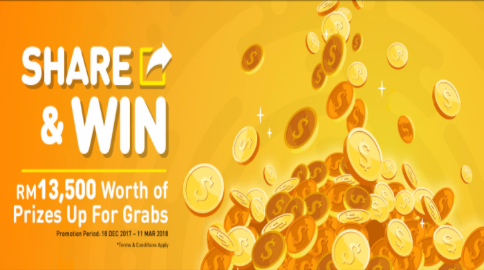 UMobile Share & Win Cash