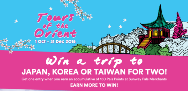 sunway-pals-win-a-trip-to-japan-korea-or-taiwan-for-two