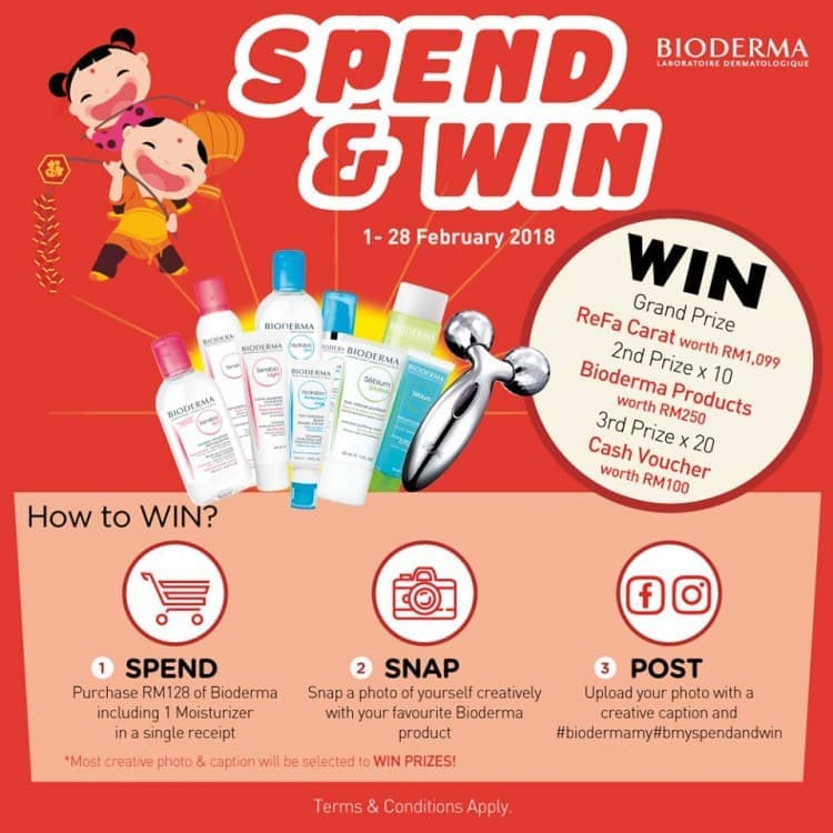 Bioderma Spend & Win Contest