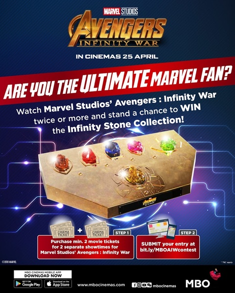 MBO Cinemas Are you the ultimate Marvel fan contest