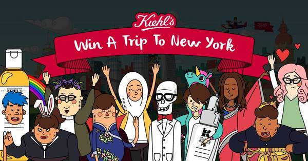 Kiehl's Win A Trip To New York!