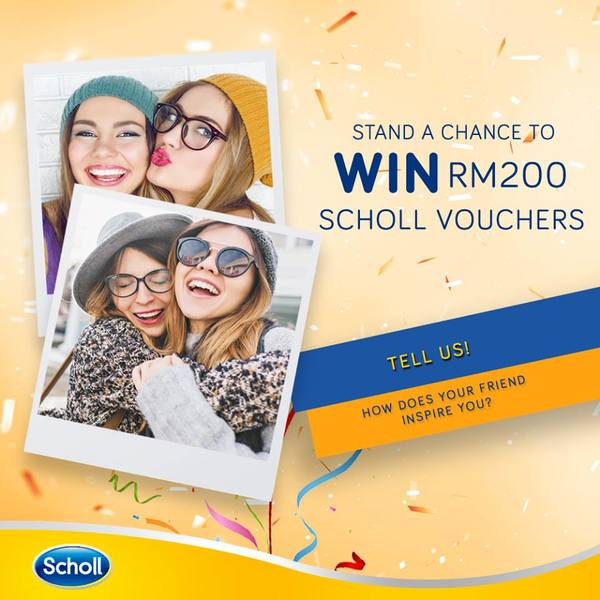 Win Scholl Shoes Contest