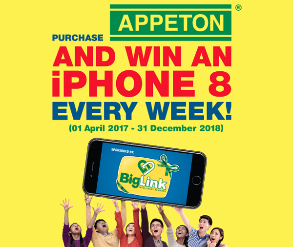 Win an iPhone 8 every week!