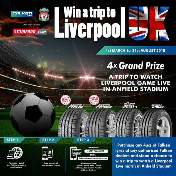 WIN YOURSELF A TRIP TO LIVERPOOL UK