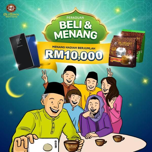 OLDTOWN White Coffee Beli&Menang Contests