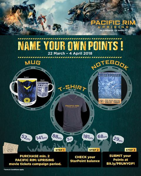 MBO Cinema Name Your Own Points