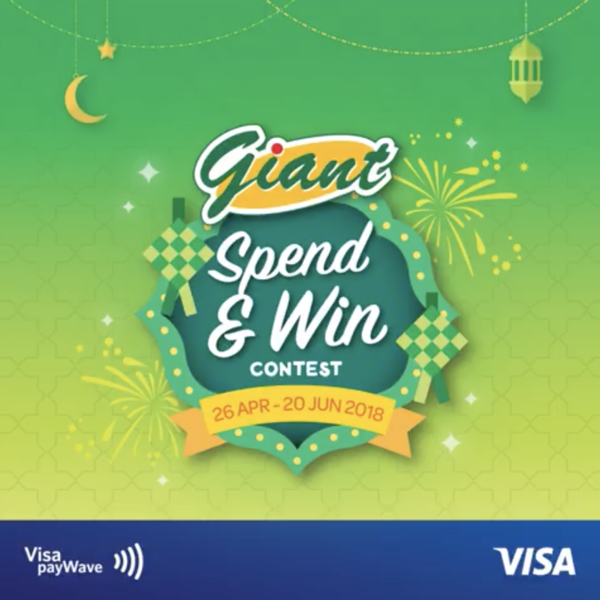 Win up to RM250000 worth of prizes with VISA payWave