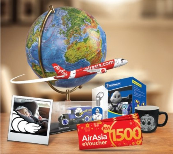 赢取Air Asia礼券!!Win AirAsia Vouchers!
