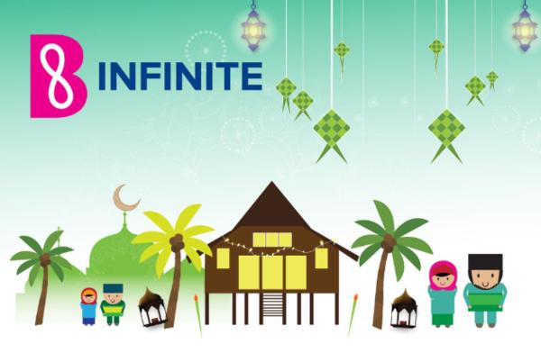 B INFINITE Win RM10,000 Duit Raya Weekly