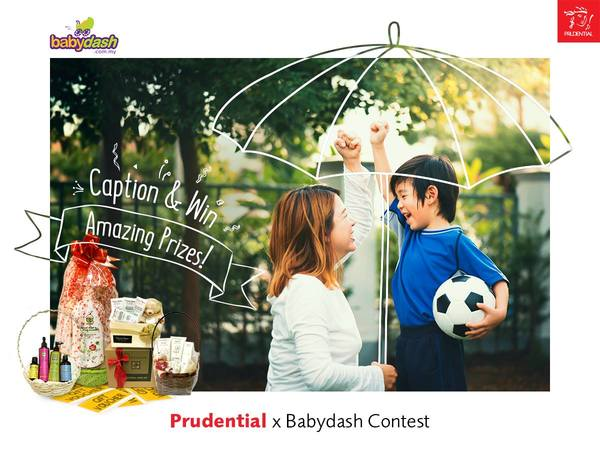 Prudential x BabyDash Caption & Win