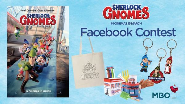 MBO Cinemas Sherlock Gnomes Facebook Contest