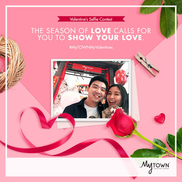 Win prizes with a Valentine's selfie