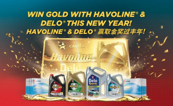 Win Gold With HAVOLINE® & DELO® This New Year!!