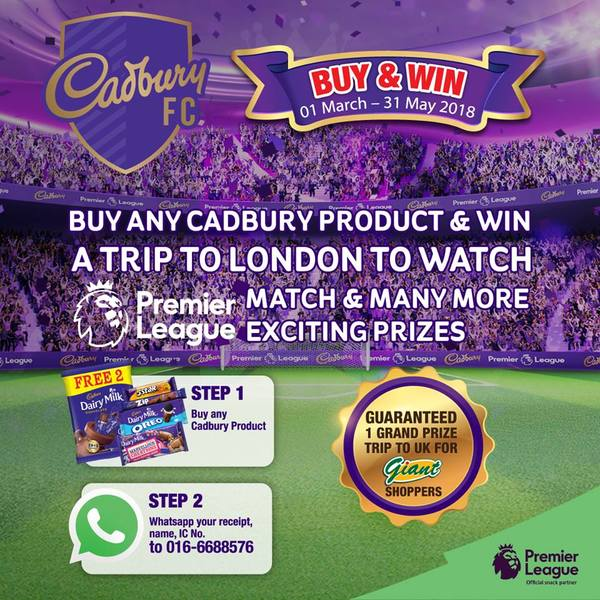 Cadbury Buy and Win a Trip to London