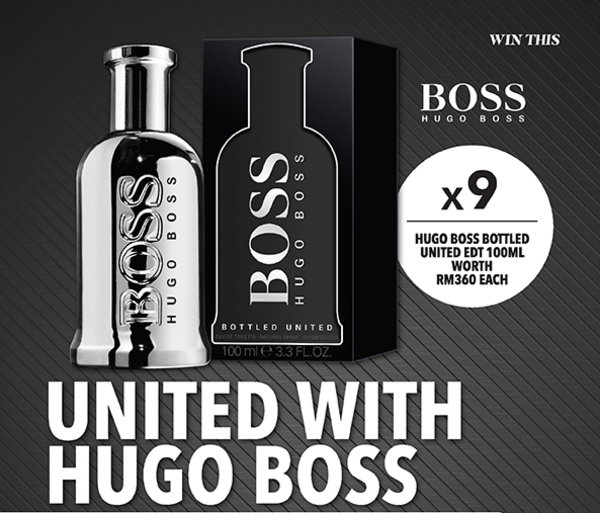 UNITED WITH HUGO BOSS contest