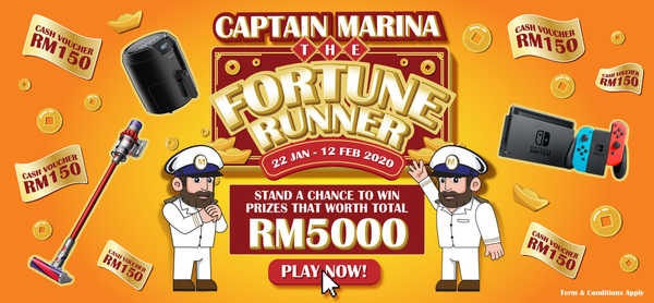 captain-marina-the-fortune-runner-contest