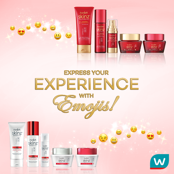 Watsons EVERSOFT SKINZ Emoji Contest