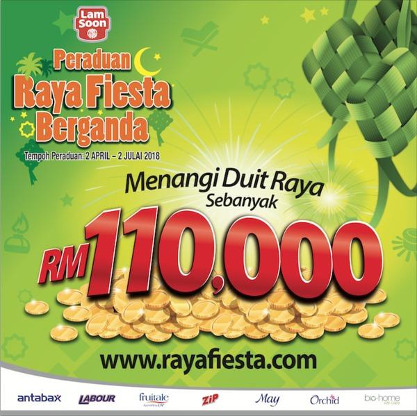 Raya Fiesta Berganda Contest
