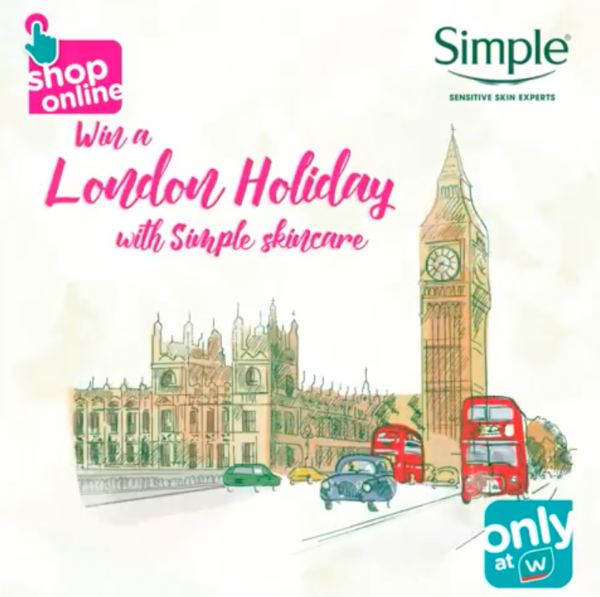 Win a London Trip with Simple Skincare