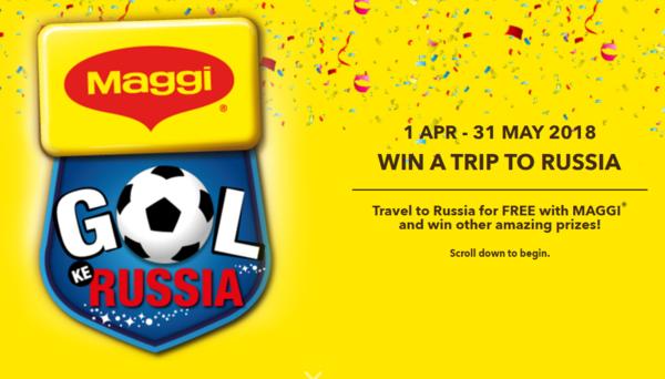 Maggi Win a Trip to Russia