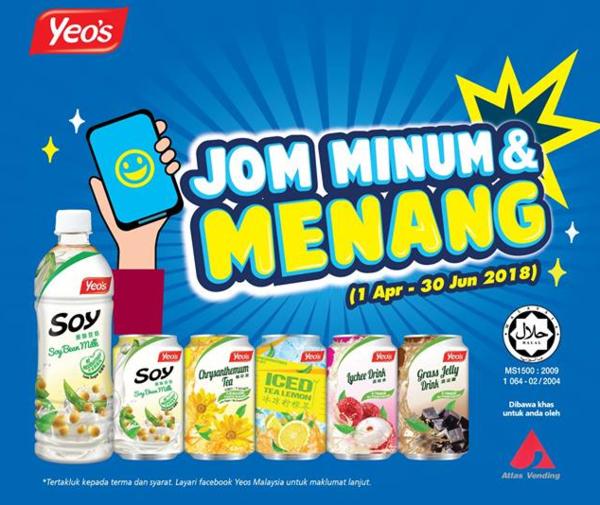 Yeo's Jom Minum & Menang
