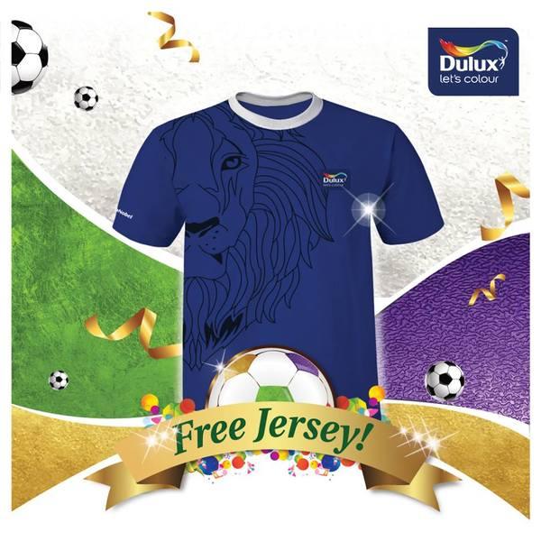 Dulux Free Jersey