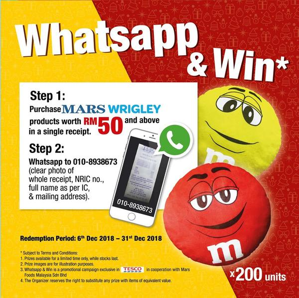 m-and-m-whatsapp-and-win