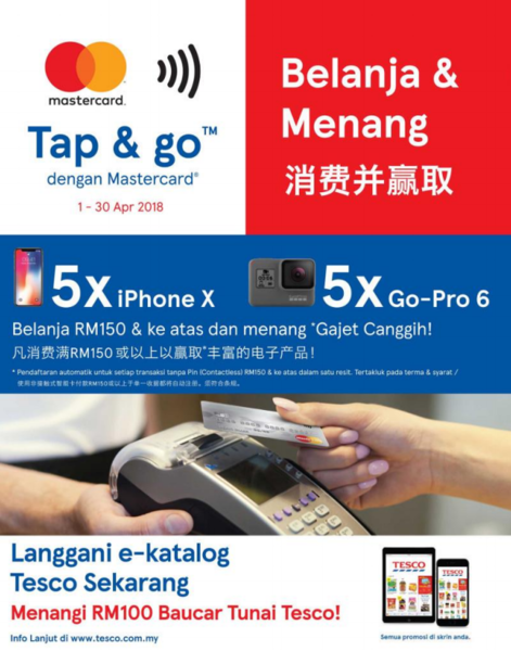 Tap & Go With Mastercard