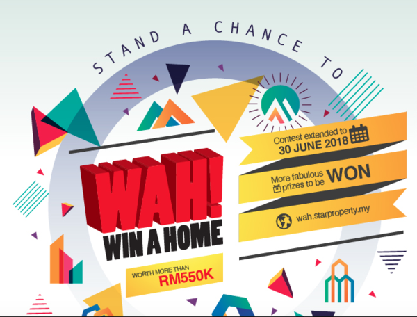 Win a HOME worth RM557,800!!!