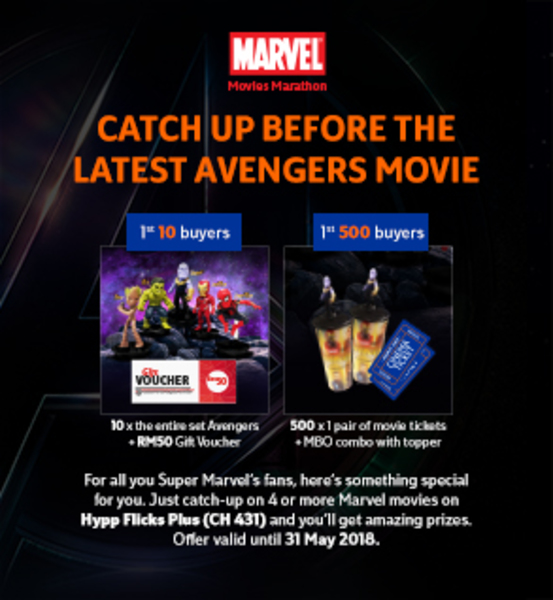 HyppFlicks Plus - Road to Infinity War